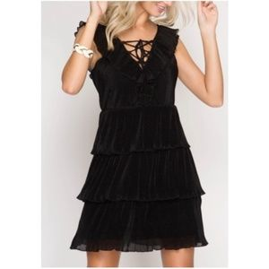 🎁 Holiday Party Dress - Black